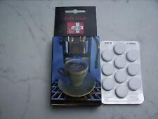 1 Blister SHB Swiss Cafe Clean 10 St. Kaffeefettlöse Reinigungstabletten z.B WMF