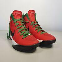 Nike Zoom Hyperdunk 2011 Challenge Red Pine Green Size 8.5 US 7.5 UK 42 EUR