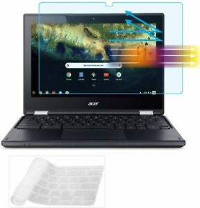"""Light Glare Screen Protector Keyboard Cover for 11.6"""" Acer Chromebook Anti Blue"""
