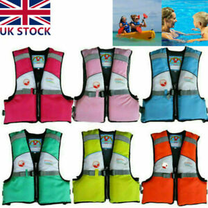 Children Kids Watersport Personal Swimming Life Jacket Safety Vest UK Swimsuit