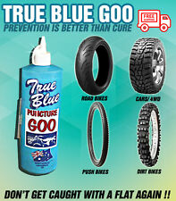 True Blue Puncture Goo | Tyre Repair | Puncture Preventative 1L Bicycle