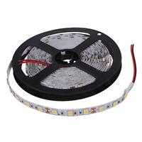 5M 300 Warm White LED 5050 SMD Flexible Light Lamp Strip 12V DC Home Club Y G0T3