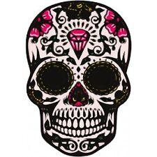 Autocollant Tête de mort muerta skull stickers adhesif 17 cm