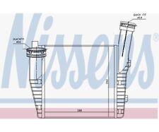 NISSENS Intercooler, charger 96611