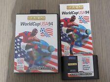 JEU SEGA MEGA DRIVE  WORLD CUP USA  COMPLET