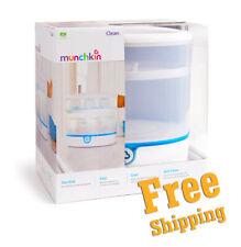 NEW Munchkin Baby Bottle & Accessories Clean Electric Sterilizer White