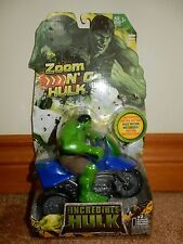 Zoom N Go Hulk MOTORIZED RACING ACTION-GENUINE, BRAND NEW, FREE USPS SHIPPING