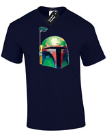 FETT POP ART MENS T SHIRT STAR JEDI WARS YODA BOBA BOUNTY HUNTER FAN GIFT IDEA