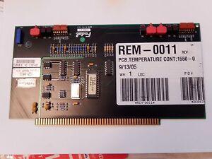 Fadal PCB-0209 Digital Dual Temp Controller Board  1550-2C **Hard to Find**