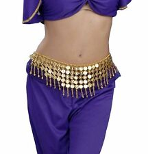 Desert Princess Gold Coin Belt Egyptian Cleopatra Belly Dancer Costume Accessory