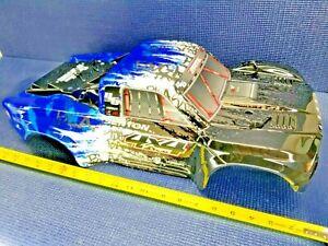*NEW* Arrma Painted Body Shell ARA402311 (BLUE/Black) for SENTON V3 BLX