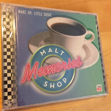 TIME LIFE MUSIC Malt Shop Memories Wake Up Little Susie BRAND NEW & SEALED 2 CD