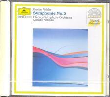 MAHLER - Symphony 5 - Claudio ABBADO / Chicago Symphony Orchestra - DG NEW
