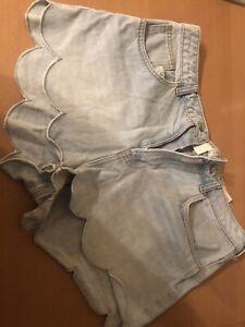 Jeans-Shorts H&M -42- -neu-