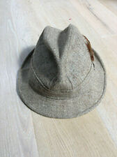 Trilby, 'Gamebird' Stewardsons of Hawkshead, size 61cm (7 1/2), light brown