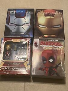 Good Smile Company Nendoroid Iron Man Iron Patriot Deadpool Lot