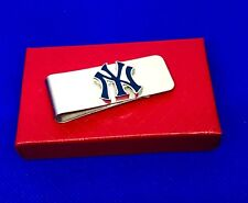 Yankees Money Clip Credit Card Holder Ny Yankees (New In Box)