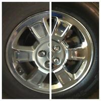 Car Bike  Alloy Wheels Metal Chrome Cleaner Polish Shine Removes Pitting