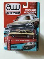 Buick Estate Wagon  Creme  Limitiert auf 4.800 Stück  auto world  1:64  OVP  NEU