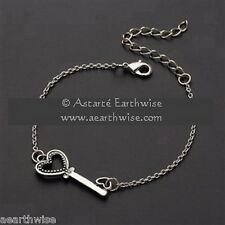 HECATE'S ANKLET Wicca Witch Pagan Goth HEKATE'S KEY ANKLET GODDESS
