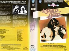 A STAR IS BORN - Streisand - VHS - PAL - NEW -Never played! -Original Oz release