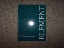 2007 Honda Element Electrical Wiring Diagram Manual LX EX SC