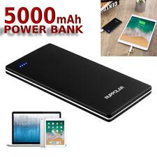 USB Outputs Super Slim Power Bank Ultra Thin, 5000mAh Mini Portable Phone USA