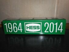 2014 HESS TOY TRUCK 1964-2014 ANNIVERSARY TANKER NEW CONDITION