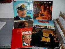 6 DISCHI 33giri MUSICA d'ASCOLTO LAST MAURIAT KAEMPFERT POLYDOR 1966/71 AFFARE!