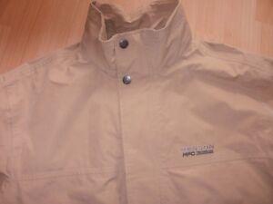 Tenson,Jacke,beige,windproof,waterproof,breathable,Gr.50