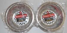 Lot Of 2 Spot Stainless Steel Mirror Bowls Dog Cat Dish 1 Pint