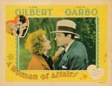OLD MOVIE PHOTO Woman Of Affairs Lobby Card Greta Garbo John Gilbert 1928