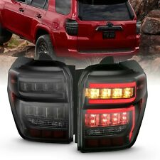 Anzo 311312 Black Smoke LED Taillights w/ Sequential for 2014-2020 4Runner