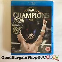 WWE - Night of Champions 2013 (Blu-ray, 2013)