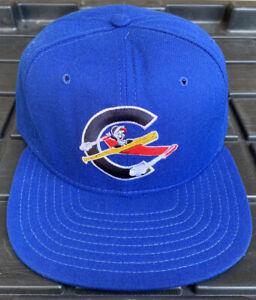 Vintage Columbus Clippers New Era Pro Model SnapBack Hat Cap MiLB USA Made
