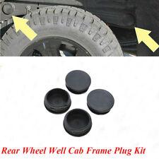 For GMC Sierra Silverado 2500HD 2001-2019 Rear Wheel Well Cab Frame Plug Kit