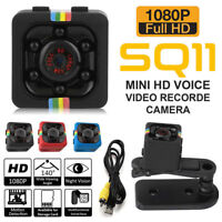 SQ11 Spy Hidden DV DVR Camera Full HD 1080P Mini Car Dash Cam IR Night Vision