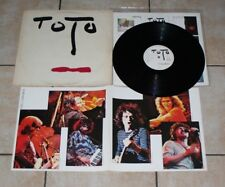 TOTO 33 TOURS TURN BACK  CBS 84609 DE 1981  (made in holland) VG/ VG++