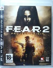 F. E. A. R. 2. Project Origin. Ps3. Fisico. Pal Es