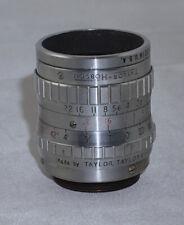 Taylor Hobson 1 Inch f1.9 Bell & Howell C Mount Cine Lens