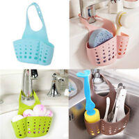 1x Bathroom Shelf Soap Sponge Rack Kitchen Storage Holder Sink Drainer Organizer