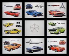 8 ART PRINTS - DODGE CHALLENGER T/A R/T SE 1970 1971 1972 1973 1974 440 426 HEMI