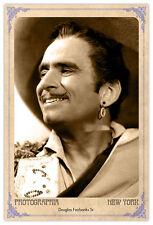 DOUGLAS FAIRBANKS Screen Legend Vintage Photograph A++ Reprint Cabinet Card CDV
