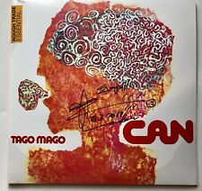 CAN - TAGO MAGO HAND SIGNED REPRESS RECORD AUTOGRAPHED BY DAMO SUZUKI