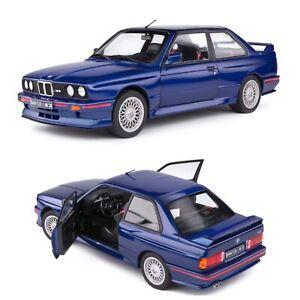 1/18 Solido BMW E30 M3 Mauritius Blue 1990 Neuf En Boîte Livraison Domicile