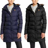 Brave Soul Winter Long Bubble Hooded Padded Big Sizes Ladies Parka Jacket Coat