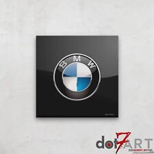 BMW Badge Luxury Black Open Edition Print