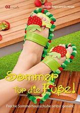 Sommer für die Füße! * Freche Sommerhausschuhe selbst genäht * OZ Verlag