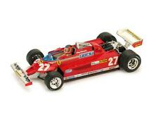 Ferrari 126 Ck G.Villeneuve 1981 1:43 Brumm R390-Ch Model Car Diecast