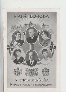 1937 Tschechien Kleine Entente Mala Dohoda Propaganda In Unire e Putere